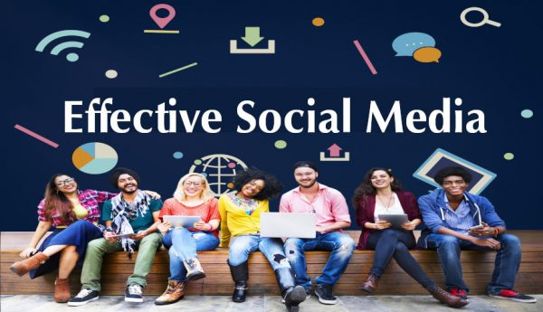 A variety of diverse people are using social media and choosing different platforms